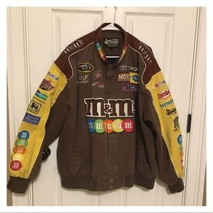 Kyle Bush Denim Racing Jacket